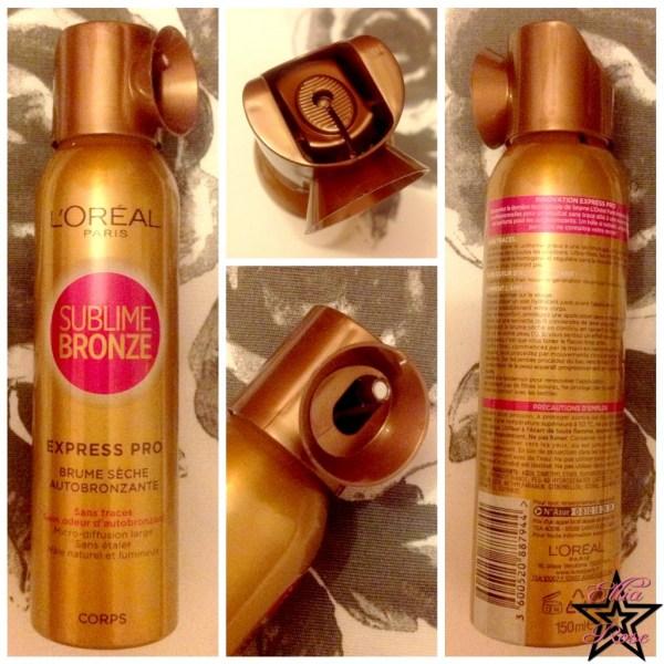 Spray Autobronzant L'Oréal