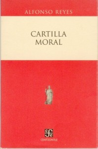 Cartilla moral, de Alfonso Reyes