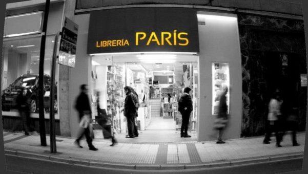 Imagen renovada de la librería París, en Zaragoza