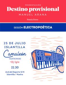 Recital Electropoético @ Camaleón GastroPark