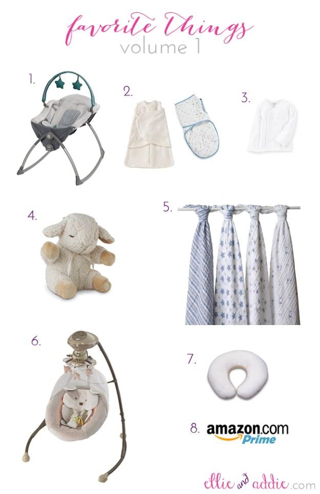 Ellie And Addie - Favorite Newborn Things