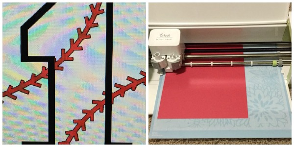 late night party crafting on the Cricut