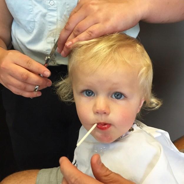 First Haircut!