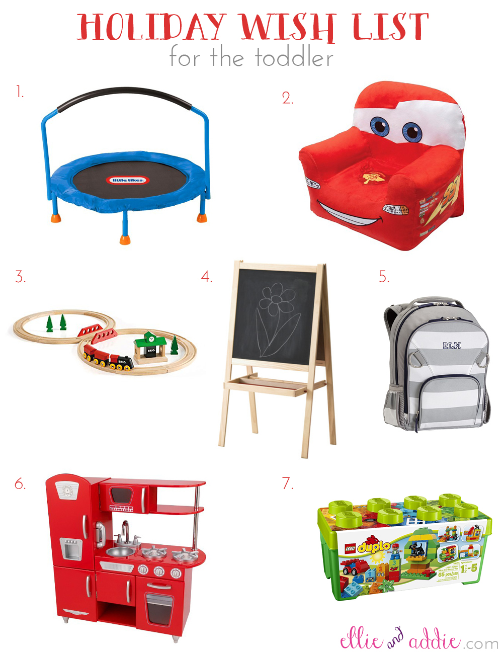 Holiday Wish List for the Toddler | Ellie And Addie