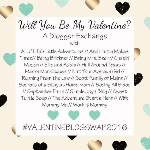 Valentine's Day Blogger Exchange | Ellie And Addie