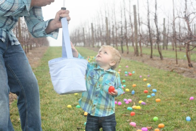Easter at Eckert's | Ellie And Addie