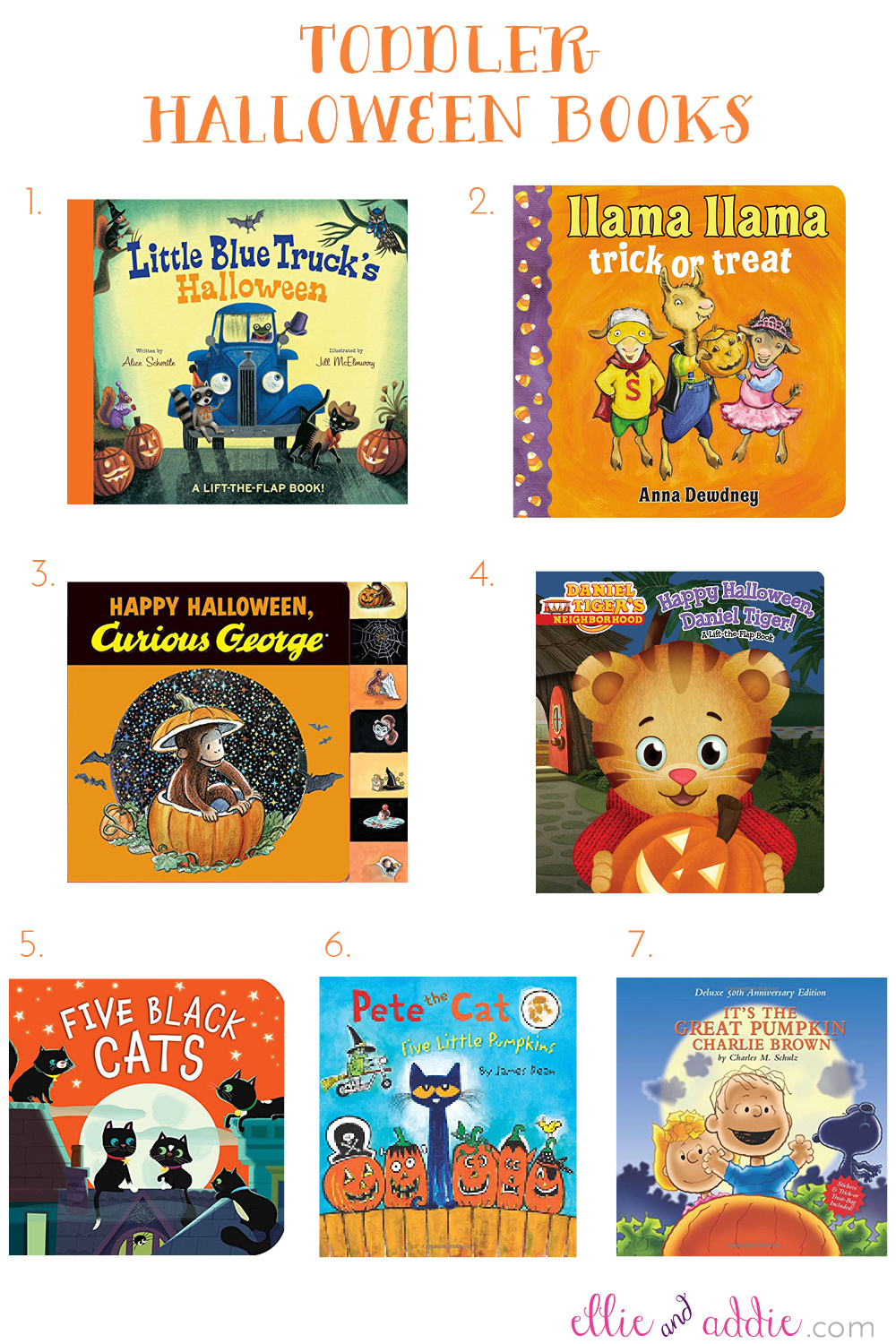 Toddler Halloween Books | Ellie And Addie