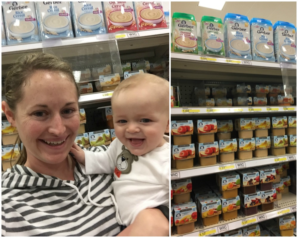 Ezra's First Bites with Gerber Cereal | Ellie And Addie