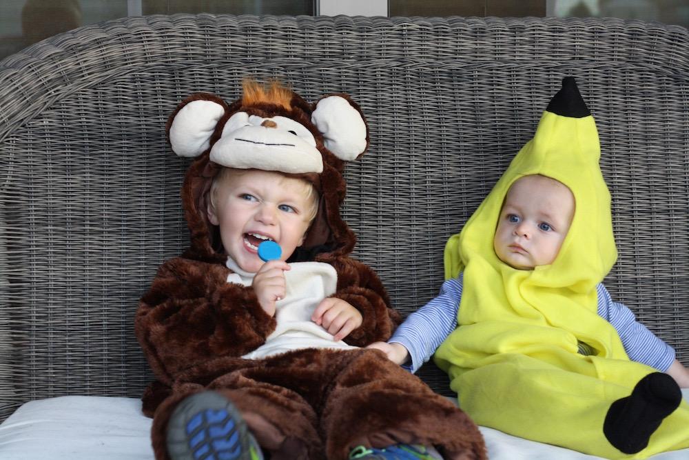 Go Bananas - Halloween 2016   Ellie And Addie