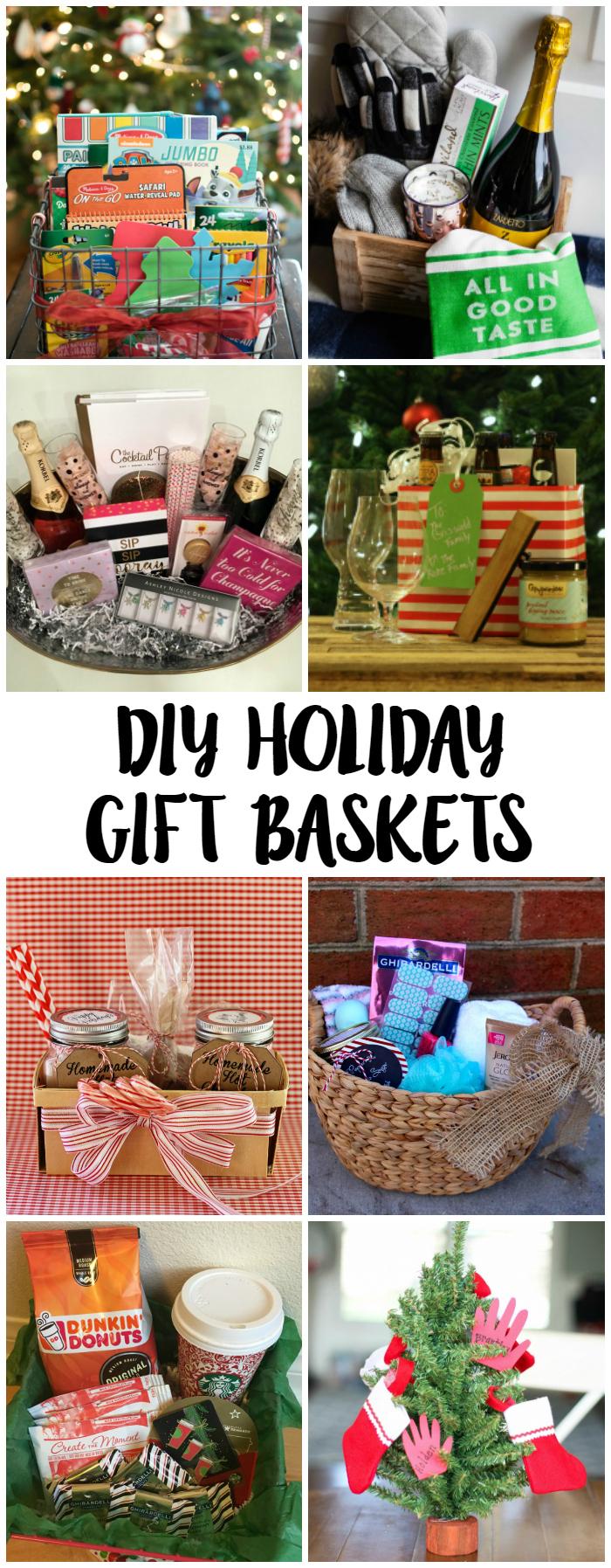 DIY Holiday Gift Basket Ideas