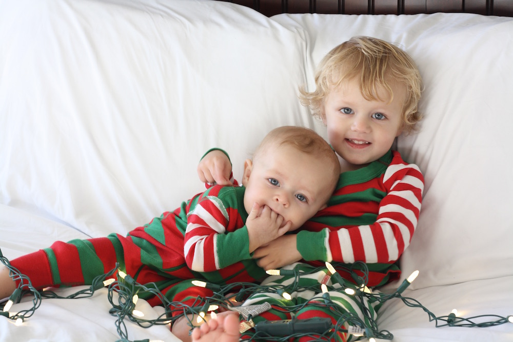 Christmas Pajama Party | Ellie And Addie