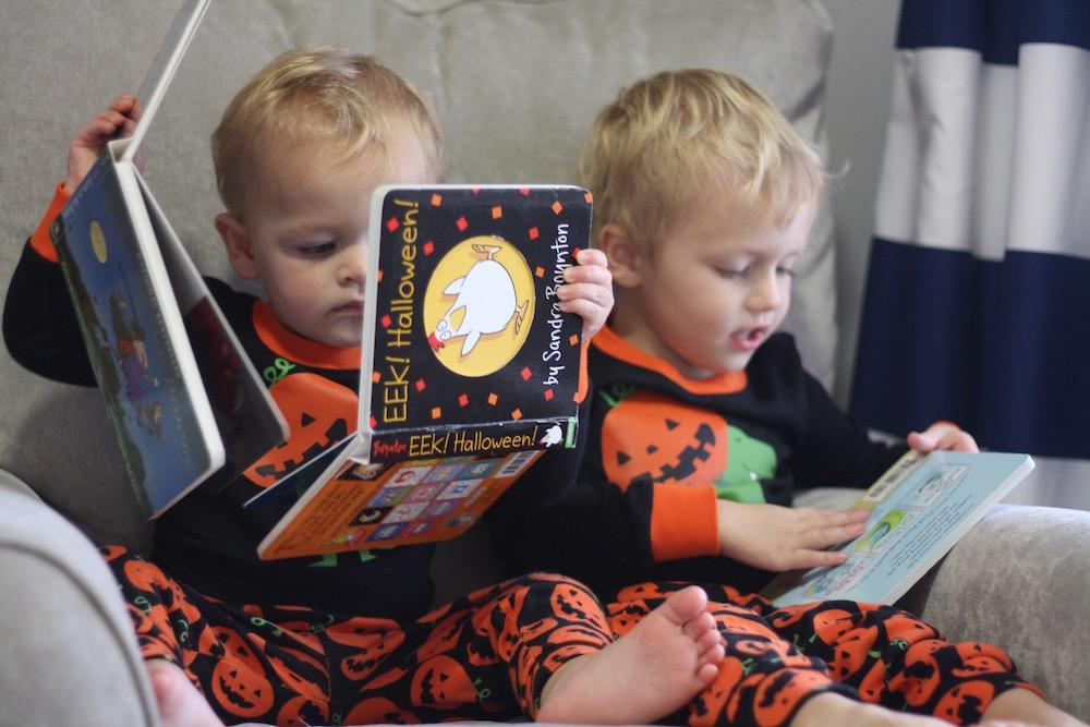 Toddler Halloween Books - Part 2   Ellie And Addie
