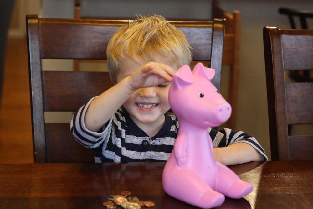 Counting Pennies with Blooom | Ellie And Addie