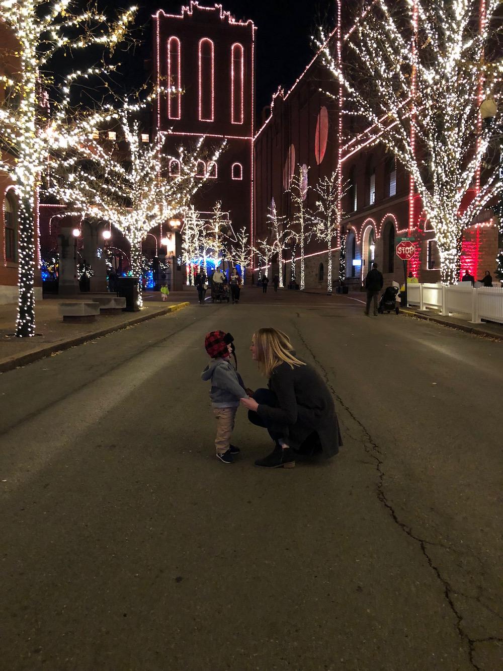 Brewery Lights at Anheuser-Busch St. Louis | Ellie And Addie