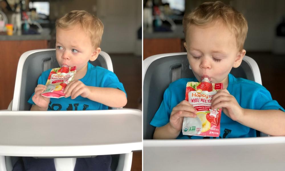 Frozen Yogurt Bark - A Toddler Recipe from Ellie And Addie