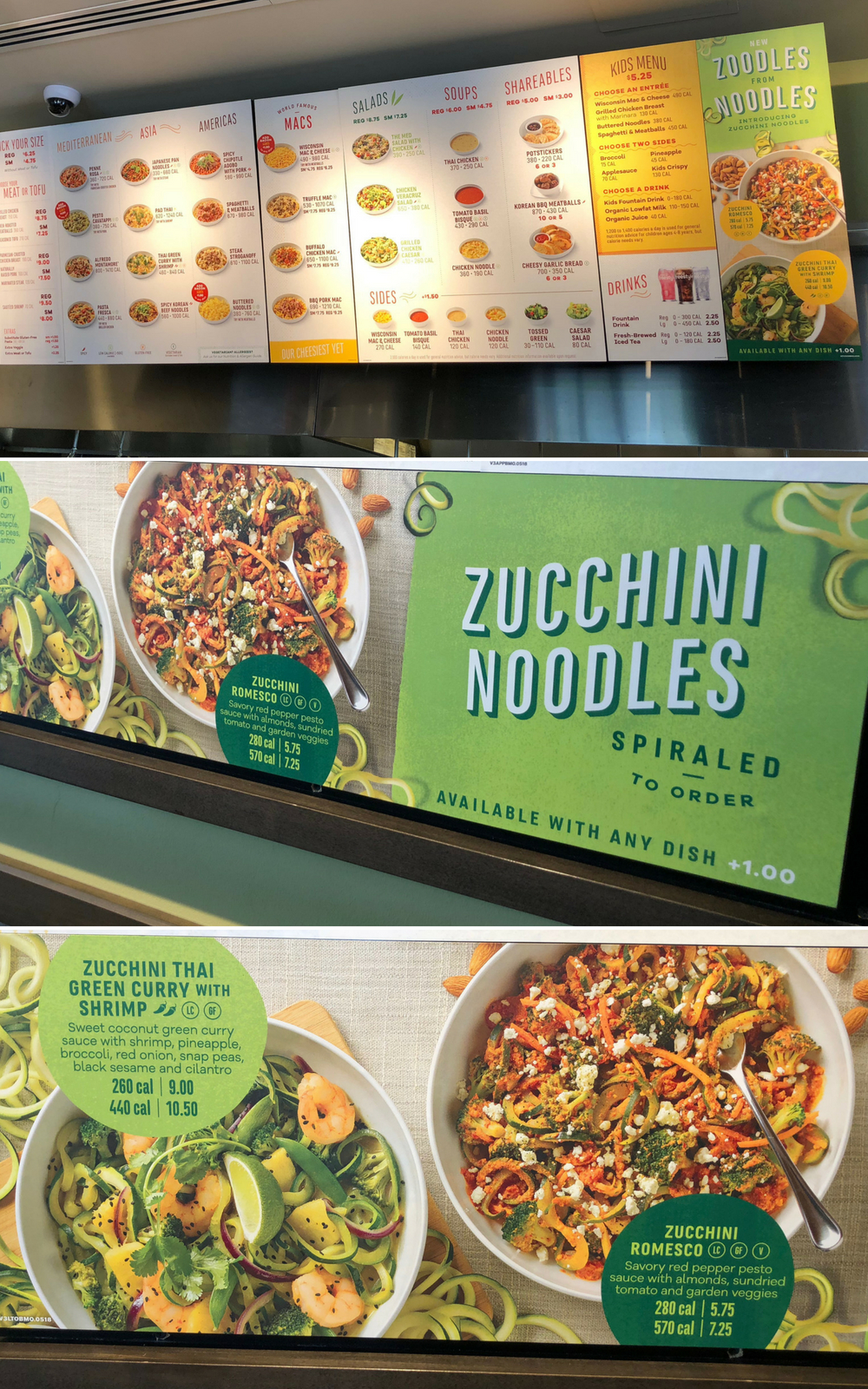 Zoodles at Noodles & Company - Introducing zucchini noodles at Noodles & Company #NoodlesMO #ZoodlesatNoodles | Ellie And Addie