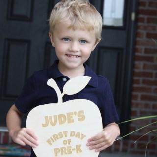 Back to School – Jude's in Pre-K!