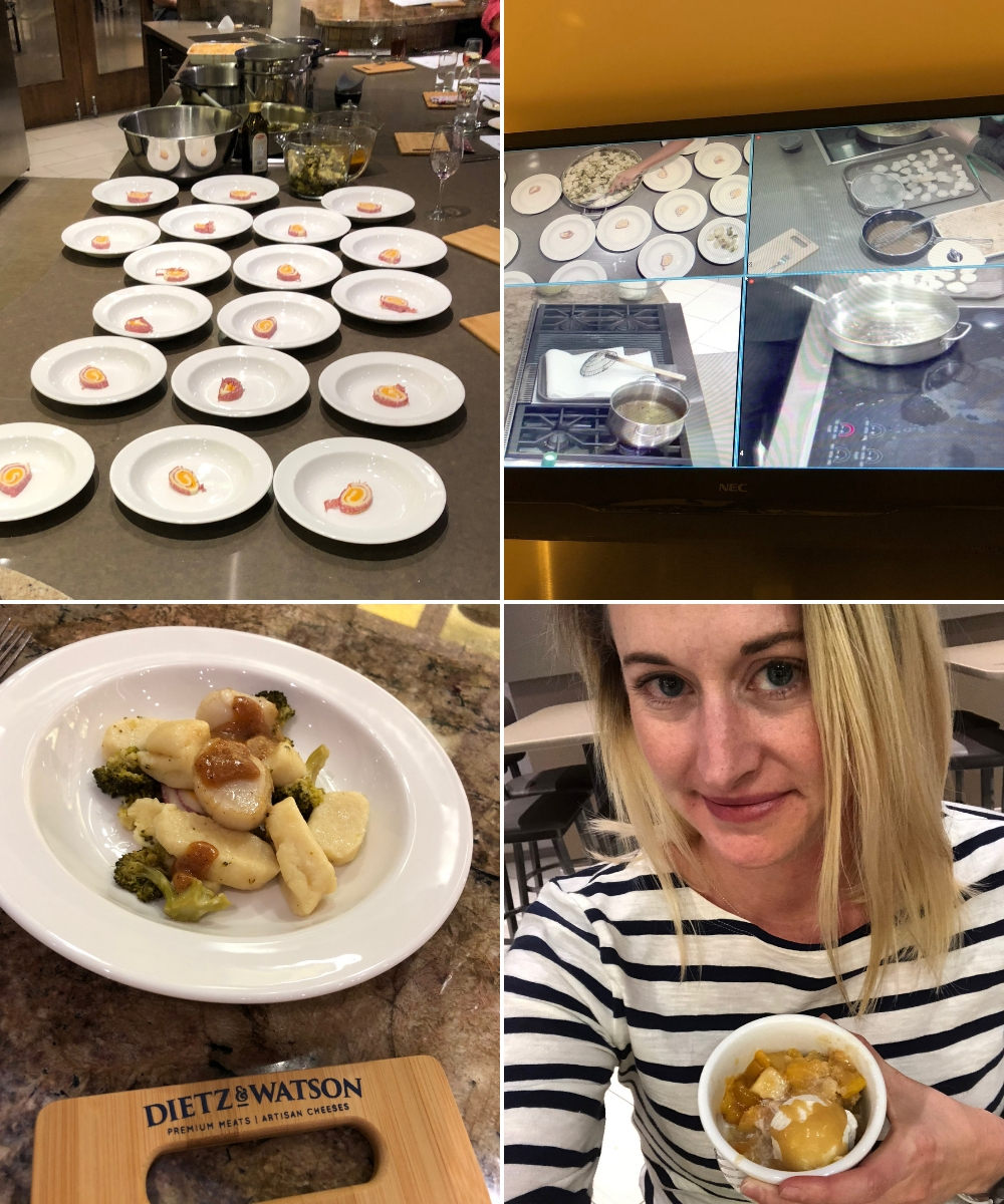 Learning In The Kitchen With Dietz & Watson - St. Louis lifestyle blogger Liz from Ellie And Addie talks about Dietz & Watson Premium Meats and Cheeses available at Dierbergs #ItsAFamilyThing #DietzAndWatson #ad