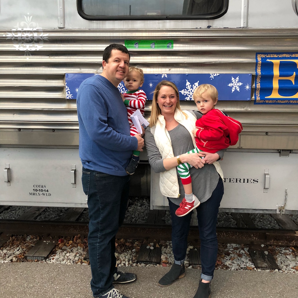 All Aboard! St. Louis Polar Express Giveaway! | St. Louis Family and Lifestyle Blogger Liz from Ellie And Addie