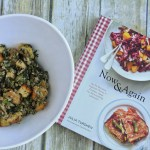 Julia Turshen's Sheet Pan Bread Stuffing with Sausage + Spinach