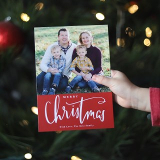 Our Family Christmas Cards 2018