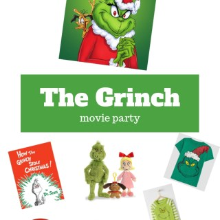 The Grinch Movie Party!