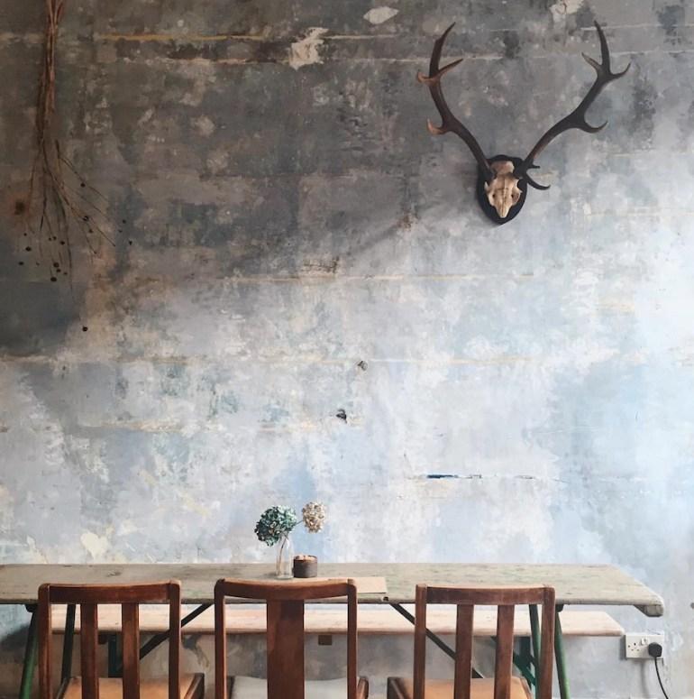 cafe rust brighton interior