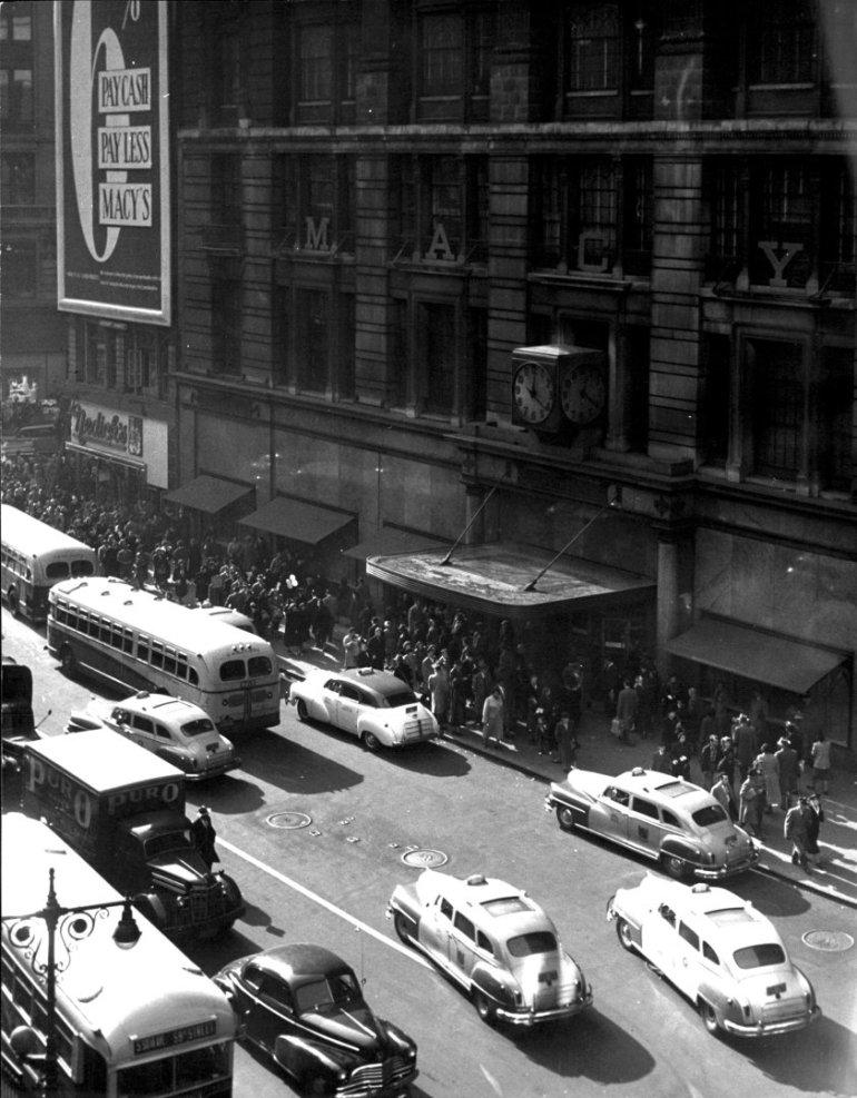 macy's department store new york 1948