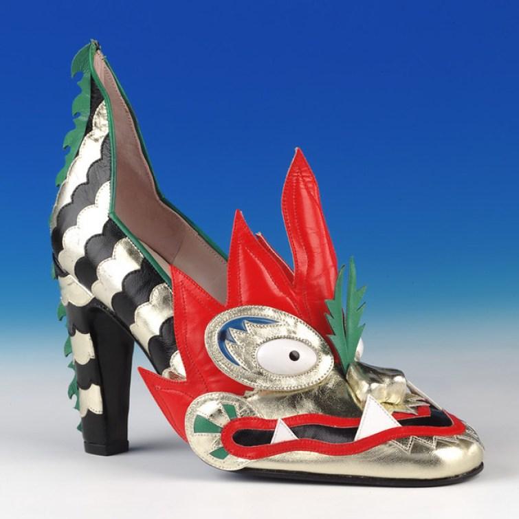 thea cadabra dragon high heel