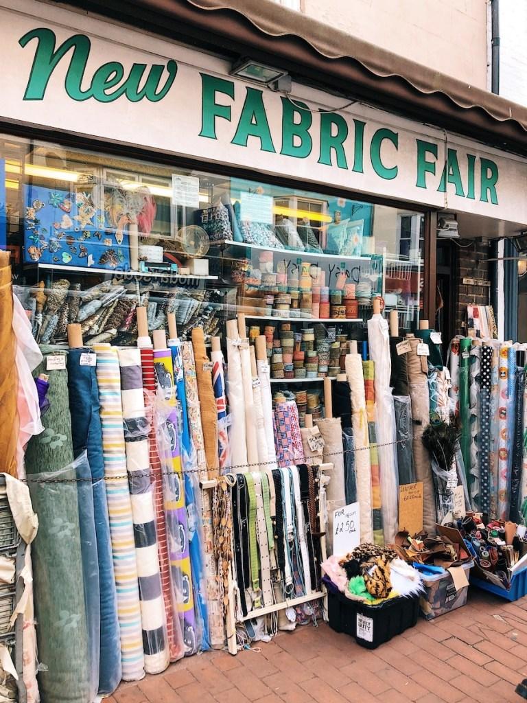 new fabric fair shop brighton