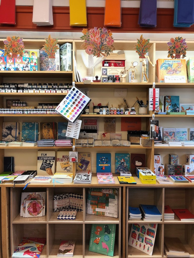 pen to paper stationery shop brighton