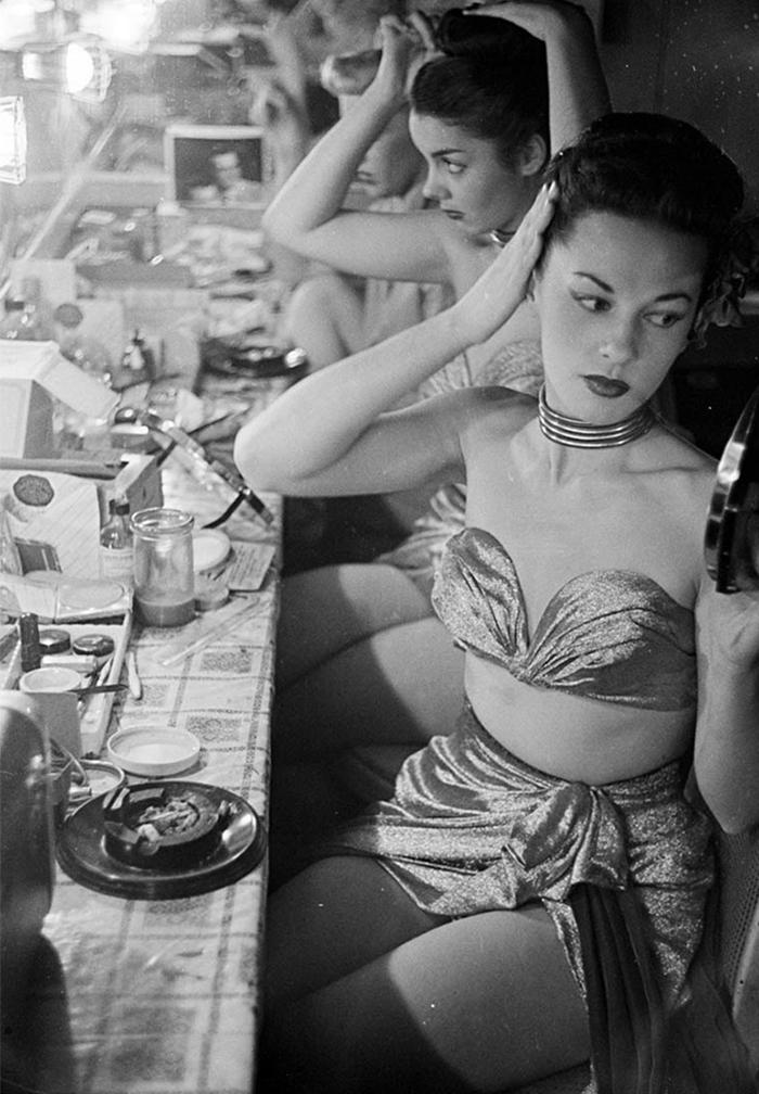 stanley kubrick photo showgirls new york