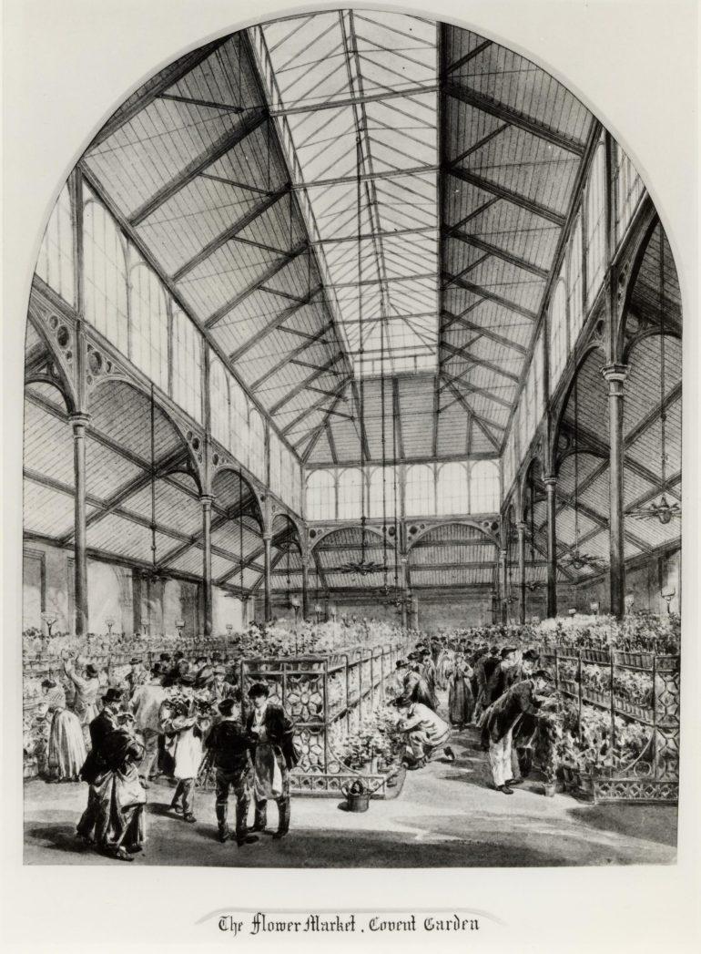 flower market covent garden 1900s