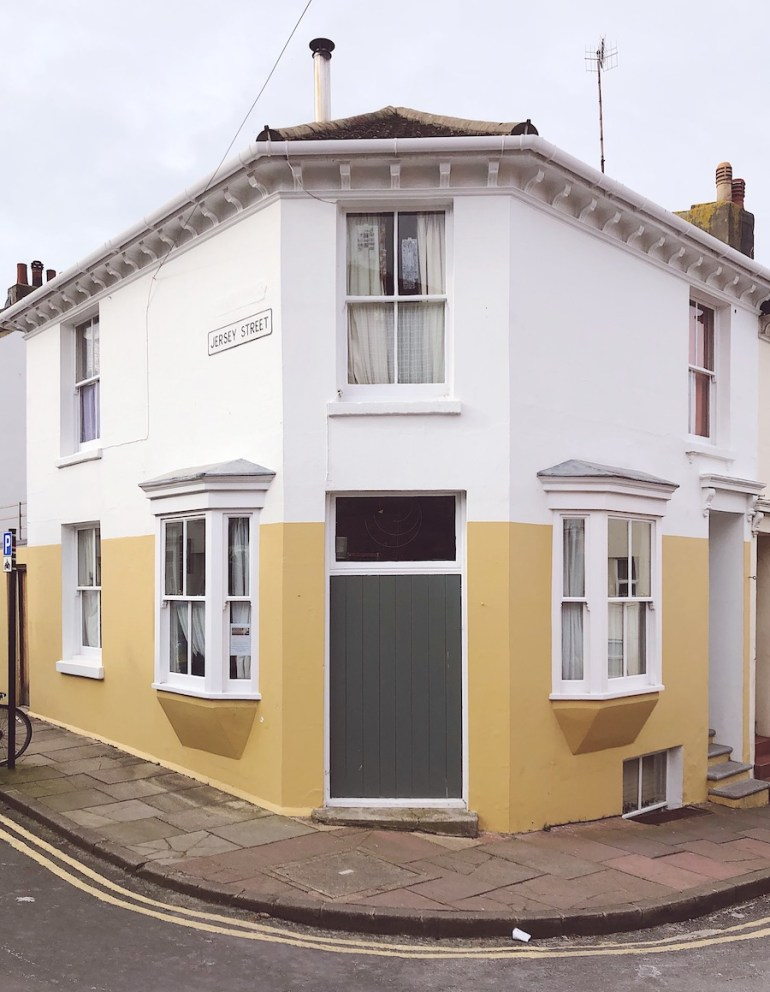 hanover colourful houses brighton hidden walk