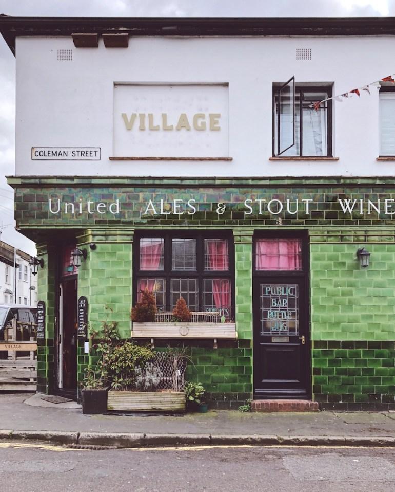 the village pub hanover brighton