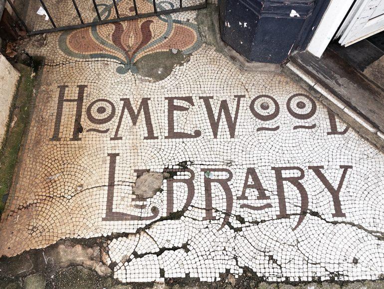 vintage shop entrance mosaic brighton