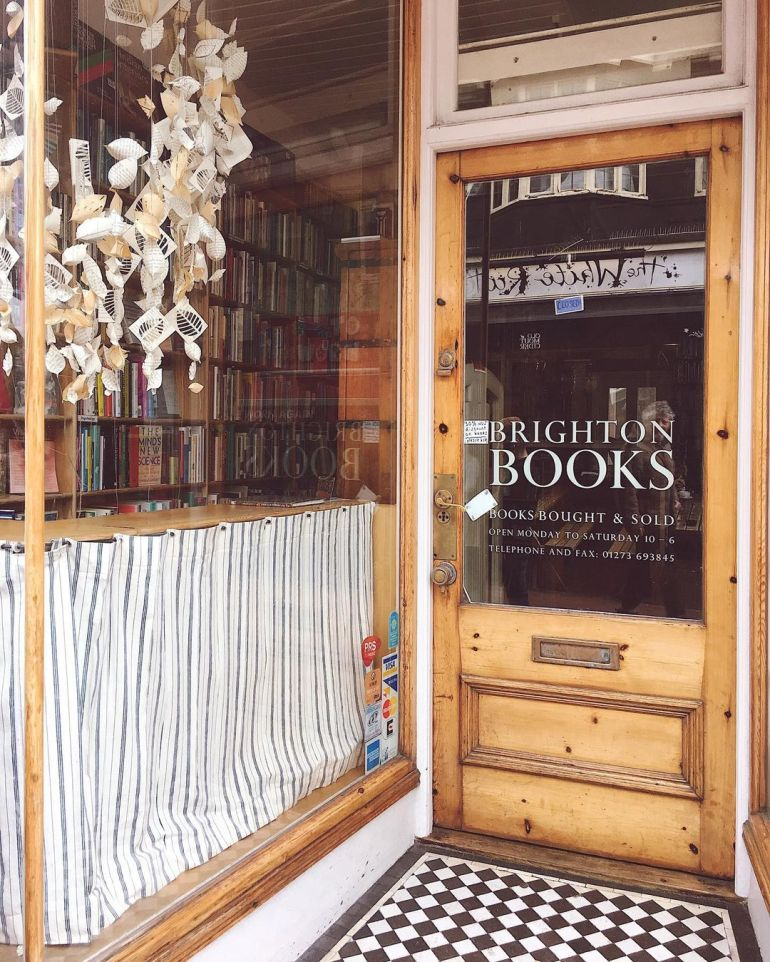 brighton bookshop entrance