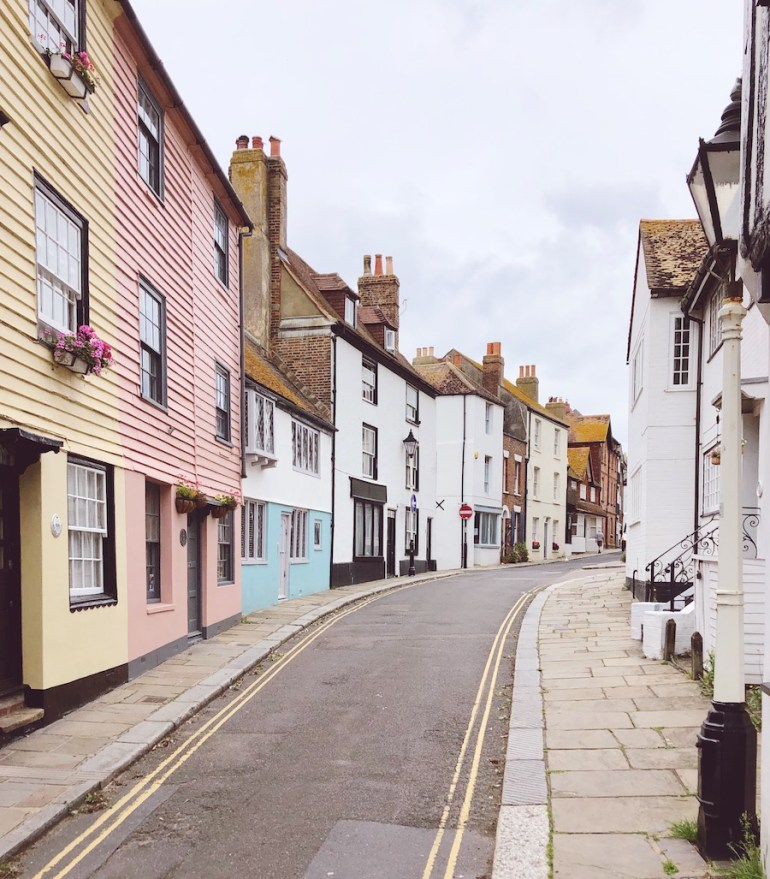 colourful historic houses