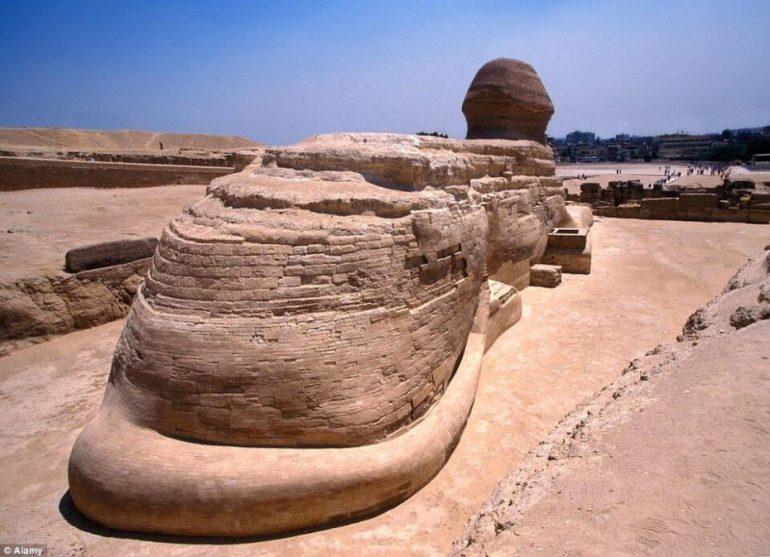 sphinx of giza egypt