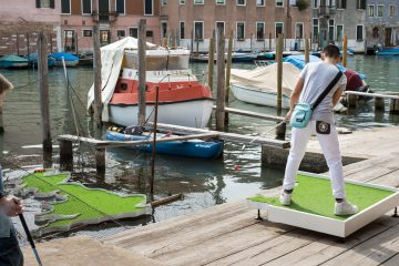 Life Raft in action at Venice Biennale in 2015