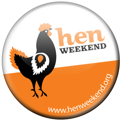 Hen Weekend Badge