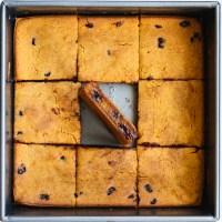 Pumpkin Chocolate Chip Mochi Cake (V, GF, OF)