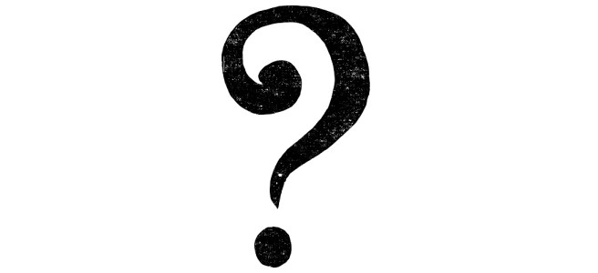 "Question mark illustration - ""I Don't Know What My Genre Is"" blog"