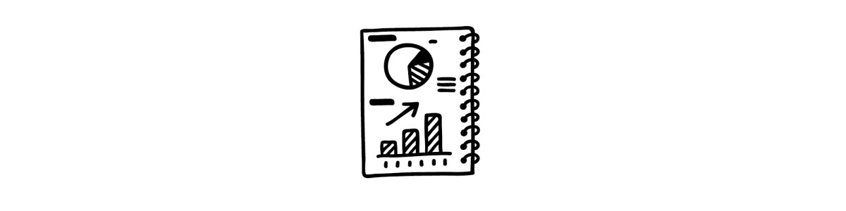 graphs notebook illustration