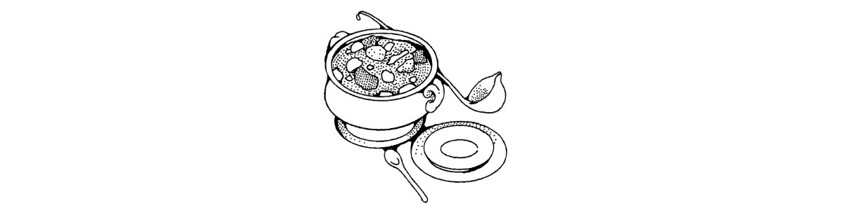 "Bowl of soup illustration - ""Soup"" Microfiction"