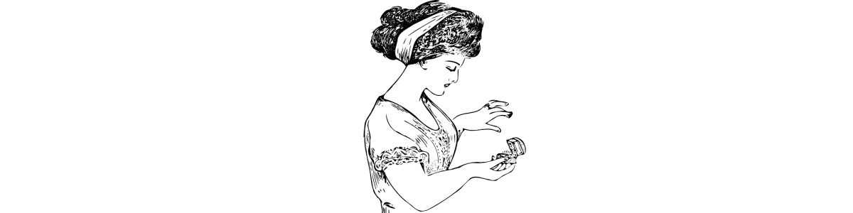 """Woman wearing a ring illustration - """"The Ultimate Mood Ring"""" microfiction"""