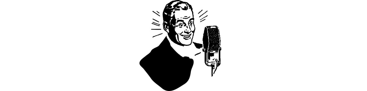 """Man singing illustration - """"But It's Only Rock and Roll"""" microfiction"""