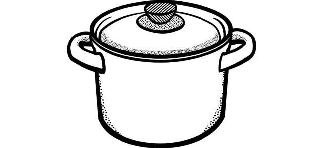 "Cooking pot illustration - ""Rosemary"" microfiction"