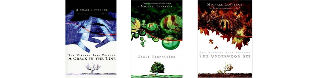The Aldous Lexicon trilogy book covers