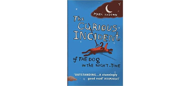 The Curious Incident of the Dog in the Night-Time book cover